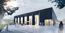 Spadtag för nya Allaktivitetshuset i Skäggetorp