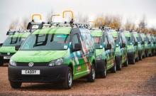 Volkswagen Commercial Vehicles extends fleet partnership with Sky