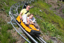 Premiär 1 juli: Isaberg storsatsar på ny året runt-rodelbana vid berget.