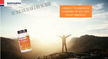 Nyhet! Biopharma lanserer kosttilskudd med fem ganger så mye C-vitamin