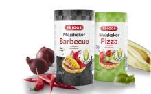 Nya smakrika majskakor från Friggs - nu i smakerna Pizza och Barbeque
