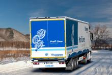 Krone godkänner de nya vinterdäcken Goodyear ULTRA GRIP MAX T för sina trailrar
