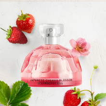 The Body Shop gør klar til Valentine med en ny Japanese Cherry Blossom Strawberry Kiss EAU DE TOILETTE