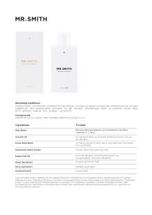 Mr smith Produktinfo Stimulating Conditioner