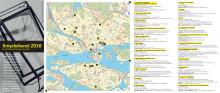 Karta för projektet Smyckekonst 2016