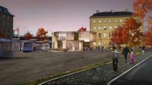 Nytt resecentrum byggs vid Åkareplatsen