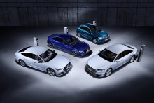 Audi visar nya laddhybrider i Geneve: Audi Q5, A6, A7 och A8