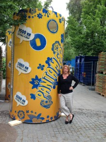 Pantamera i Kungsträdgården för att fler barn ska kunna åka på kollo