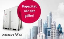 LG BELÖNAS MED EUROVENT-CERTIFIERING FÖR SITT ENERGIEFFEKTIVA VRF-SYSTEM MULTI V IV