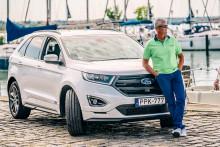 A Ford Edge nagykövete, Litkey Farkas ismét győzedelmeskedett a soling világbajnokságon