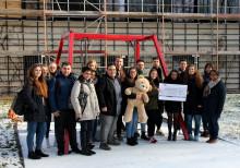 Auszubildende des Genossenschaftsverbandes setzen sich für Bärenherz ein