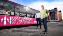 On the road to culture and innovation with Go North East's Great Exhibition of the North buses