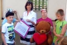 Sportlicher Einsatz für Bärenherz: Sponsorenlauf der Grundschule Prausitz