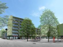 Första spadtaget för 374 nya student- och forskarlägenheter i Linköping
