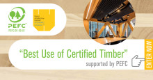 """Best Use of Certified Timber Prize"" – PEFC fortsätter samarbetet med World Architecture Festival"