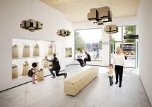 Öster Mälarstrand: 99 nya hyresrätter med kylskåp i entrén