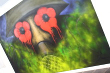 Artistic memorial to World War One unveiled