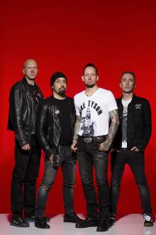 Volbeat tar sin arenaturné till Sverige och intar Göteborg och Scandinavium den 21 oktober.