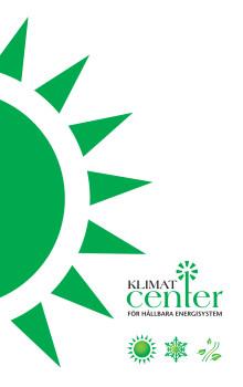 KlimatCenter broschyr