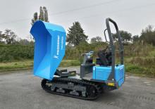 Premiär för Messersi TCH 2300 – larvgående minidumper i ny storlek