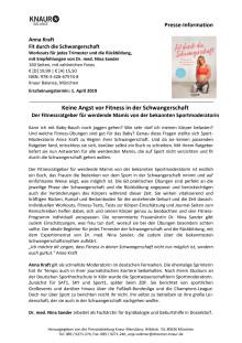 Presseinformation zum Buch