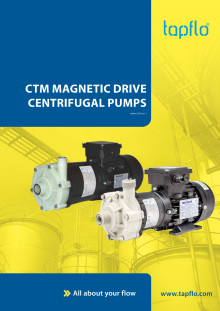 New brochure CTM mag drive pumps from Tapflo