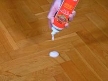 Enkelt underhåll för oljade golv