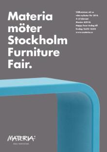 Materia möter Stockholm Furniture Fair