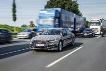 Audi AI køpilot i den nye A8