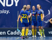 Sveriges U19-damer vann mot Finland på straffar