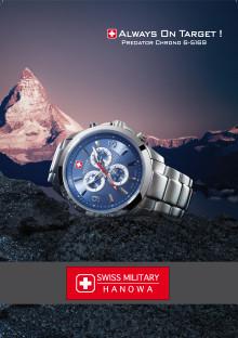 Nytt Sveitsisk klokkemerke, nå endelig i Norge!