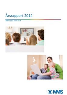 MMS Årsrapport för TV och webb-TV 2014