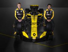 Renault Sport Formula One Team avslöjar 2018 års utmanare i F1