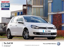 Volkswagen Golf triumphs at What Car? Used Car of the Year awards