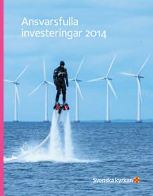 Årsrapport ansvarsfulla investeringar 2014