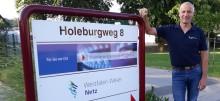 Seit 40 Jahren unter Strom Albert Mund aus Salzhemmendorf feiert 40-jähriges Dienstjubiläum in der Westfalen Weser Energie-Gruppe