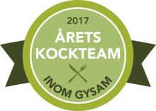 Gysam arrangerar gymnasiekocktävlingen Årets kockteam