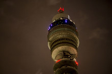 BT Tower is world's highest Internet of Things base station