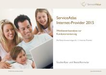 Studienflyer ServiceAtlas Internet-Provider