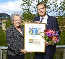 Solstickepriset år 2014 till Göran Harnesk
