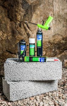 Essve lanserar stenlim för snabbt och enkelt mur- och stenarbete