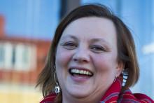 Anne Wuolab vann stipendiet Berättarkraft 2015
