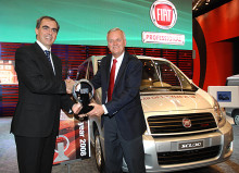 Nya Fiat Scudo är International Van Of The Year 2008