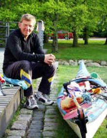 Paddling runt Östersjön, en föreläsning med Bengt Hansson