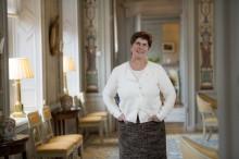Landshövding Ylva Thörn gläds åt att Dalarna får sin första hertig på 71 år!