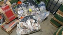 Op Venice team seize estimated £1 million in cash