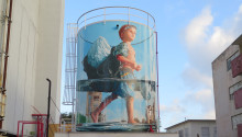 ​Mural master pieces by Fintan Magee to No Limit