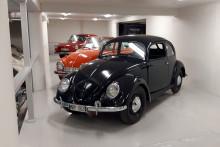 """Gregor Tovek budade hem Sveriges äldsta Volkswagen-""""Bubbla"""""""