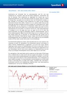 Makrorapport november 2018: Brexitkaos - blir det avtale eller ikke?