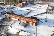 Konstsnö en lönsam affär för Östersund